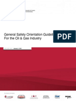 General Safety Orientation Guidelines(Replaced Irp 16)