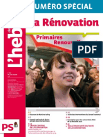La Renovation Primaires Renouvellement Parite Diversite l039hebdo n 575 Est en Ligne 22776