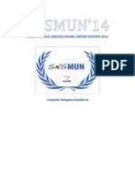 SNSMUN'14 STUDENTS GUIDE
