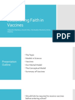establishing faith in vaccines powerpoint