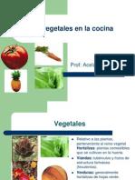 Los Vegetales en La CocinaAbril 2011