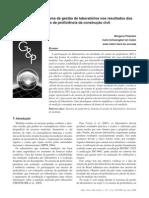 A influência do sistema de gestão de laboratórios nos resultados dos ensaios