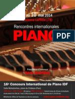 2014 Dossier Concours International de Piano IDF