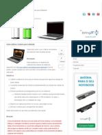 Como Calibrar a Bateria Para Notebook - Blog Das Baterias