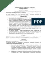 Acuerdo 154 de 2011 Consejo Superior