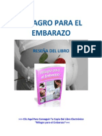 Milagro para el Embarazo. Reseña del libro.