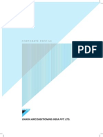 Daikin Corporate Profile 2012