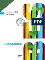 9856 Specimen Lingue BisogniEducativiSpeciali 2014
