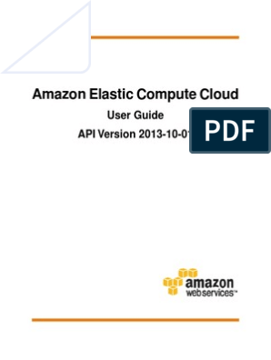 ec2-ug | Cloud Computing | Amazon Web Services