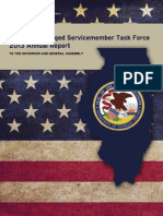illinois discharged servicemember  task force -- 2013 annual report low res