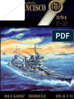 Halinski Model Kartonowy 1994-03] - USS SanFrancisco