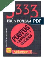 60734194 3333 Livro de Ponto Riscado de Exu Pomba Gira