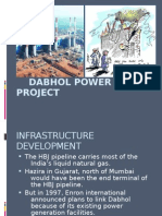 Dabhol power plant project