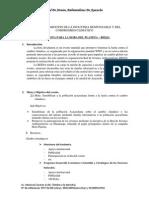 Plan de Trabajo Ultimo Planeta 2014