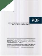 De Las Ventajas Competitivas a La Estrategia Empresarial (1)