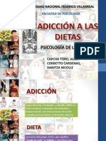 Adicción a las Dietas