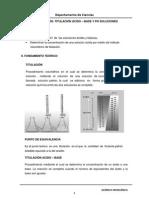 Lab 8.Titulación ácido - base y pH en soluciones