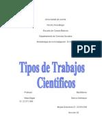 Los Trabajos Científicos listo MS
