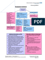 Dyspepsia Guidelines 2012 from NHS