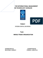 INTRODUCTION of Trade Organization