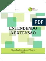 Manual Extensão 2013