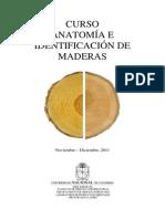 Anatomia e Identificacion de Maderas