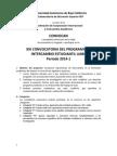 Convocatoria de Intercambio Estudiantil Para 2014-1