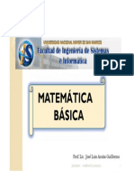 Matemática Básica - Clase 1