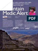 Mountain Medic Alert - Conference Poster