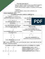funções hidrocarbonetos