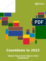 Countdown to 2015_Global Tuberculosis Report 2013 [Supplement]