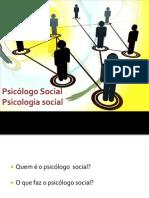 Psicologo Social - Perspectivas de atuação