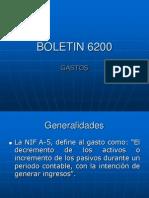 Gastos 6200