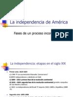 Clase La Independencia de America