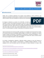 Proyecto Prevencion Del Abuso Sexual Infantil