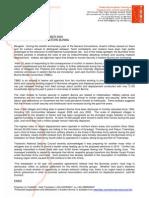 2009-10-29-media-release- Rising Instability in Eastern Burma.