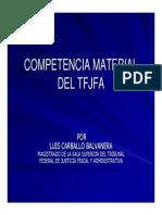 Competencia Materia Fiscal