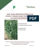 Guia Para Producir Forraje de Avena y Cebada Bajo Temporal