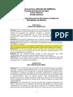 Propuesta CE 2014 Para El Reglamento Electoral Para Las Elecciones Al Centro de Estudiantes de Historia
