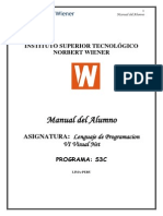 Lenguaje de Programacion Vi Visual Basic Net
