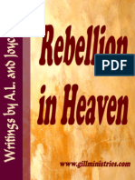 Rebellion in Heaven!