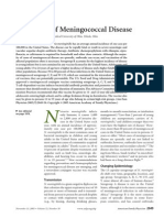 Prevention of Meningococcal Disease