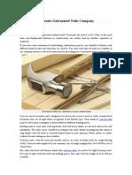 Penetta Galvanized Nails Company