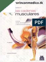 Cadenas Musculares - L. Busquet - Tomo 2