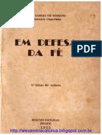 Frei Damião_Em Defesa da Fé_Livro