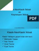 Klasik-NeoKlasik_Iktisat