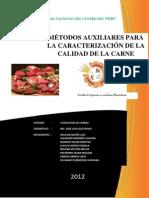 Informe de Calidad de Carnes