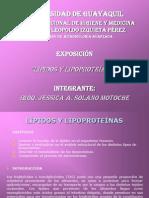 EXPOSICIÓN DE LÍPIDOS Y LIPOPROTEÍNAS