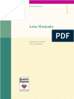 Programa de Estudio Artes Musicales 1° medio