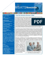 Comsat Newsletter IssueNo 3 May June 09